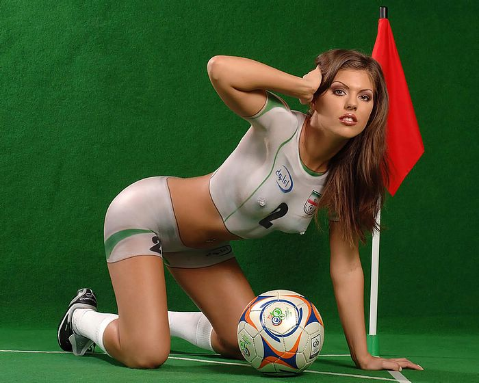 Know Best world cup naked body paint think
